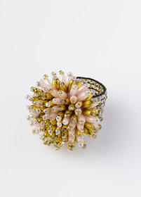 designsix Nova ring Mix Shellpink/Gold